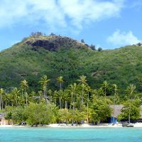 Tahiti, l'une des îles paradisiaques de la Polynésie française