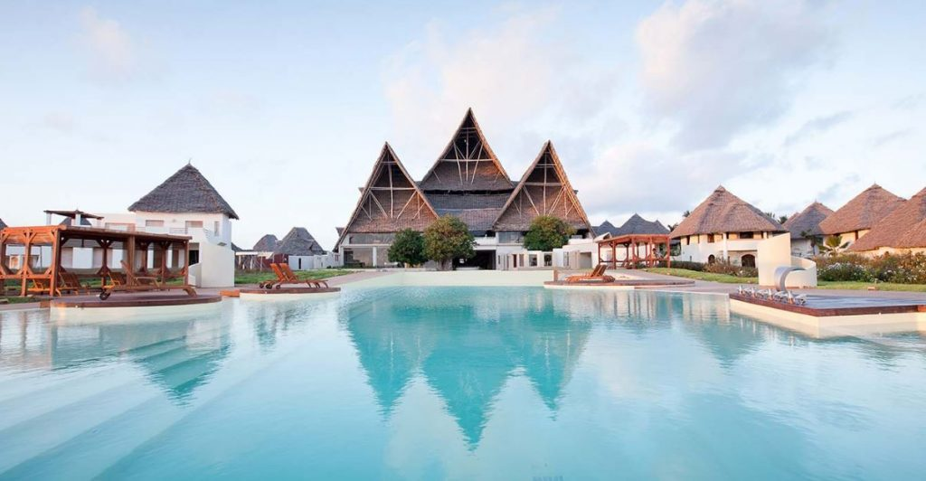 Chic hôtel à zanzibar