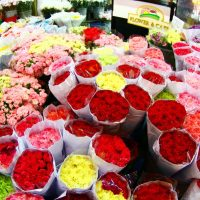 Le marché Pak Klong Talad