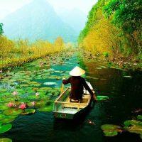 Van Long, réserve naturelle de la Baie d'Halong terrestre